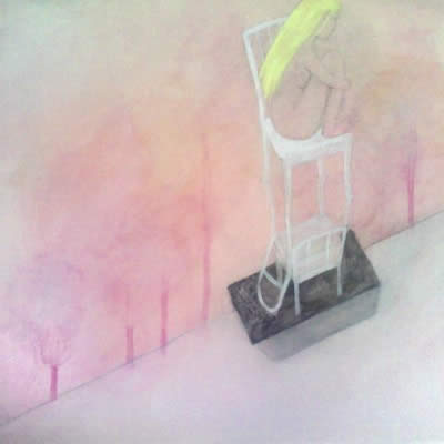 Pink by Rebekah Farr - painting by Rebekah Farr
