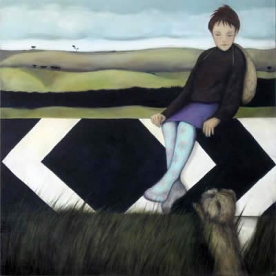 Which Way - painting by Rebekah Farr